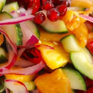Spicy Cucumber & Pineapple Salad (Kerabu) Recipe