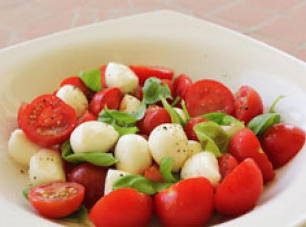 Mozzarella And Tomato Salad Recipe