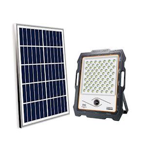 Proiector 100 W cu panou solar si camera de supraveghere