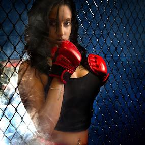 Nikita MMA by Trent Sluiter - Sports & Fitness Boxing ( brampton, nikita pedro, ontario, boxing, mma, fog doggpound )