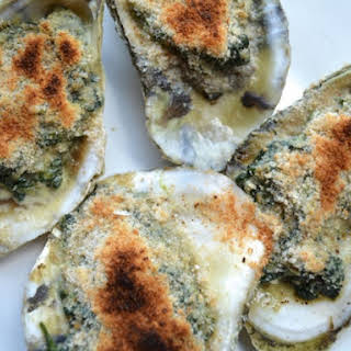 Oysters Florentine.