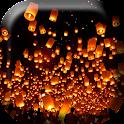 Flying Hot Air Lanterns Live W icon