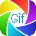Gif Maker Camera with Stickers icon