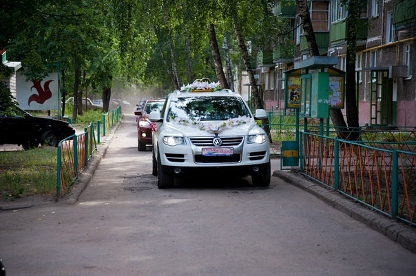 VW Touareg в Казани