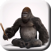 Home Monkey 3D Live Wallpaper