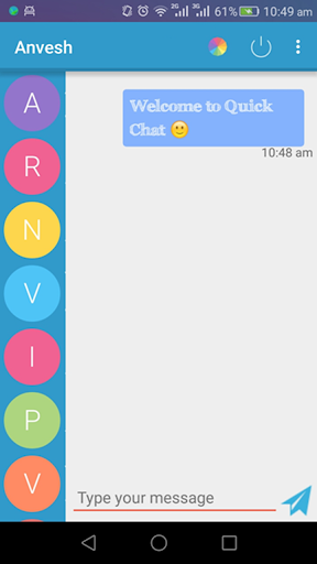 QuickChat 1.2.2 screenshots {n} 1