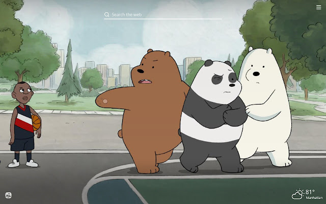 We Bare Bears Hd Wallpapers New Tab Theme