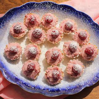Raspberry Mascarpone Mini Tarts.