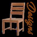 Latest Wooden Chair Designs(offline) icon