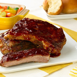 Slow-Cooked St. Louis Barbecued Ribs