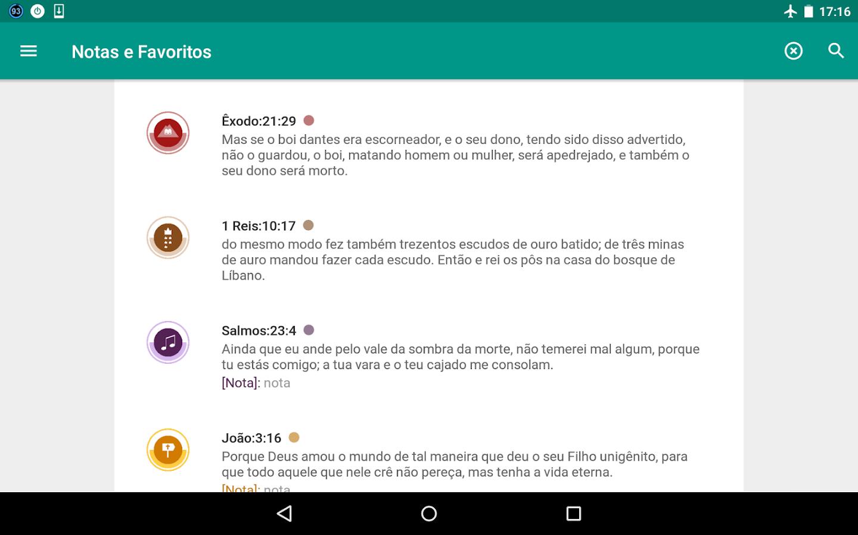 Bíblia em Português Almeida- screenshot