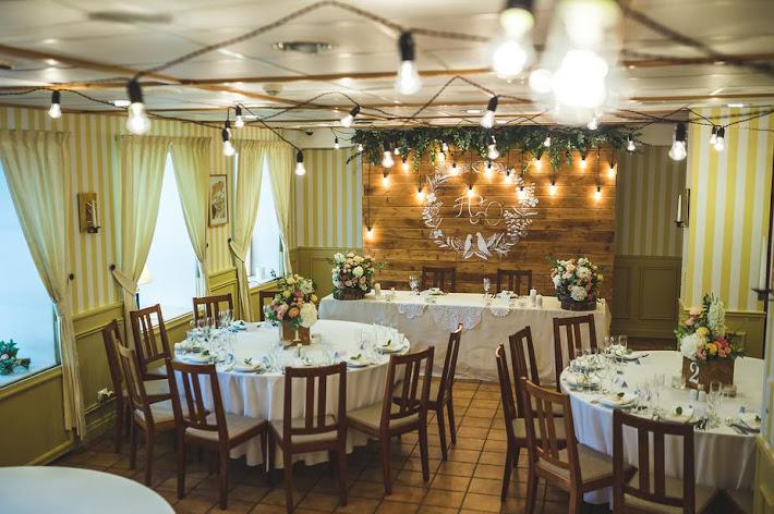 Фото №2 зала Ресторан «Стокгольм» + Каминный зал