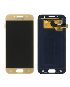 Galaxy A3 2017 Display Gold