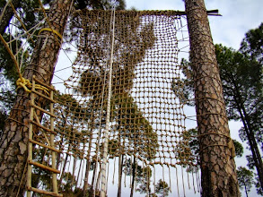 Photo: Net Climb - 15ft High rope Course