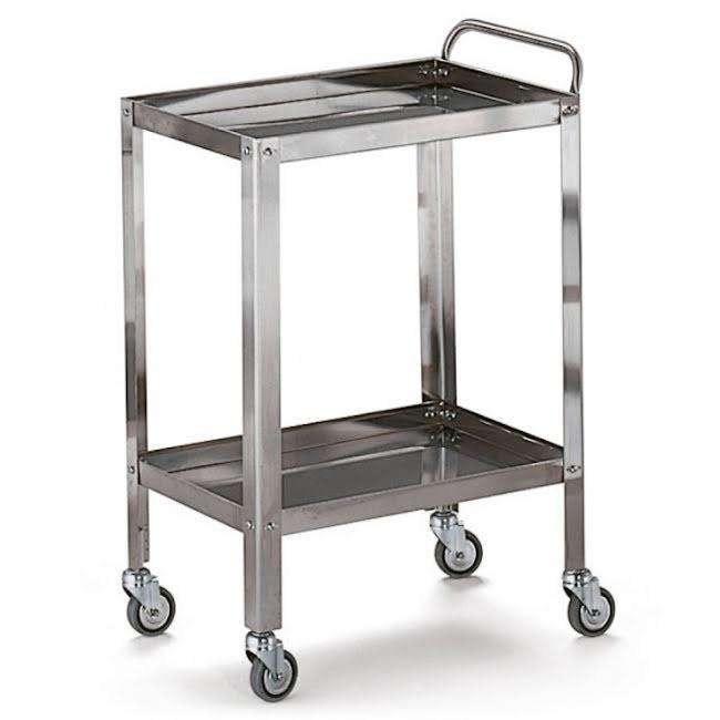 Rondvagn i stål - Medium