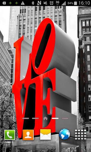 Love romance Live Wallpaper