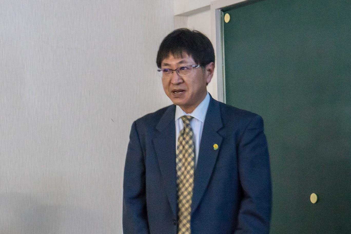 企画振興課・濱田敬一 課長補佐