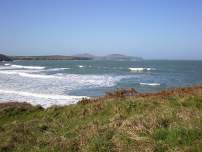 Photo: From St David's to Abercastle (Whitesands Bay)