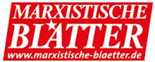 Logo: Marxistische Blätter.