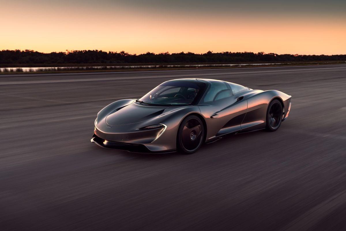 McLaren Speedtail does top speed runs at Kennedy Space Center