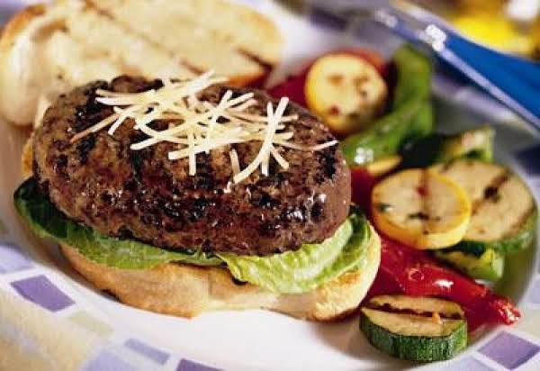 Caesar Beef Burger Recipe