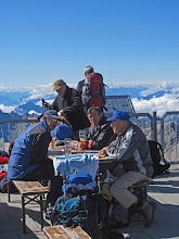 Photo: Enjoying A Beer On The German Side of the Zugspitze