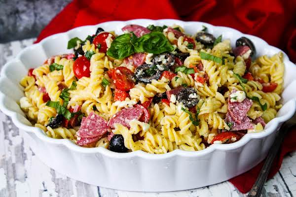 Gluten-free Pasta Salad For Your Next Cookout.