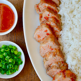 Sweet and Sour Roast Pork Tenderloin.