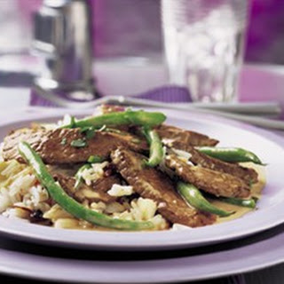 CURRY BEEF and AROMATIC RICE Recipe
