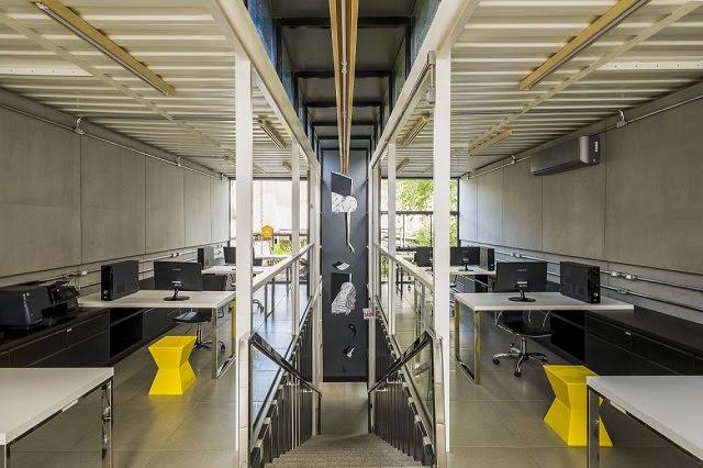 Desain Kantor Kontainer - Rodrigo Kirck Arquitetura-4