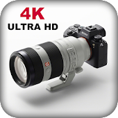 HD Camera : DSLR Ultra 4K HD Camera