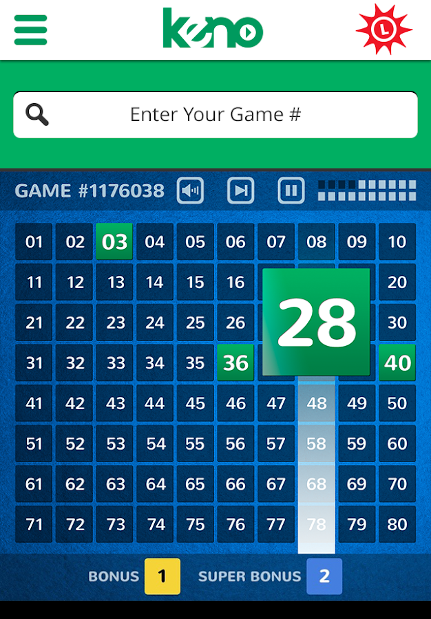 MD Lottery - Keno & Racetrax- screenshot