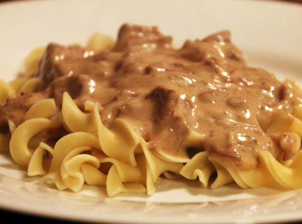 Crock Pot Beef Stoganoff Recipe