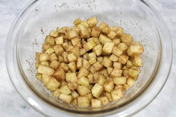 Nutty Caramel Apple Dessert