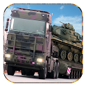 Army Cargo Truck Driving icon
