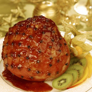 Baked Ham in Seven-Up.