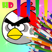 Angry Coloring Birds Kids