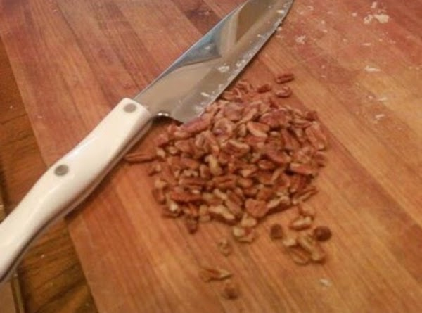 Sprinkle with chopped pecans before serving if you wish!