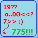 Угадай число! Больше, меньше. icon