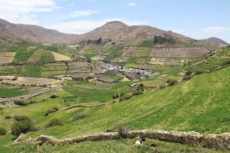 Photo: Vista del pueblo y campiña Lluta Actividad 2012