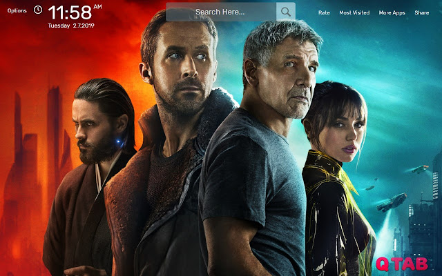 Blade Runner 2049 Wallpapers New Tab Theme