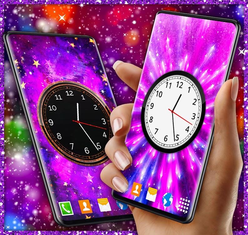 Analog Clock Live Wallpaper Clock Themes Android Aplikasi Appagg