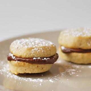 Hazelnut Sandwich Cookies.
