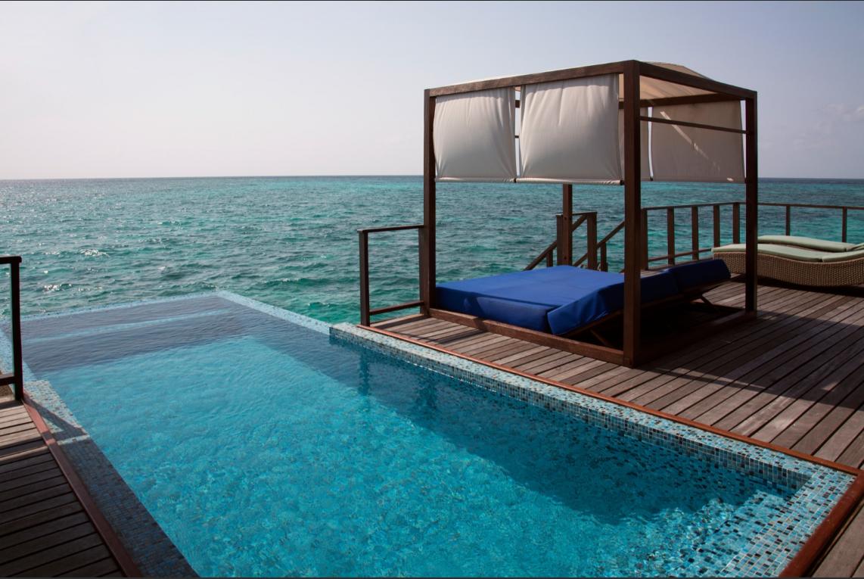 honeymoon resort in the Maldives