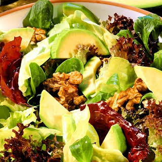 Mixed Green Salad With Avocado Recipes.