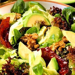 Mixed Green Salad With Avocado Recipes.