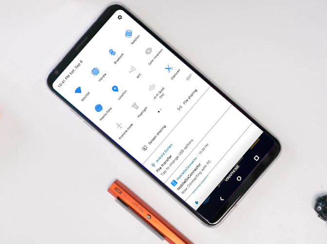 Download Blue OS Theme LG V30 G6 V20 Oreo APK latest version