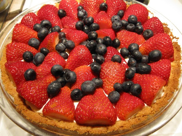 Super Easy, Yummy Memorial Day  Or July 4th Tart Recipe