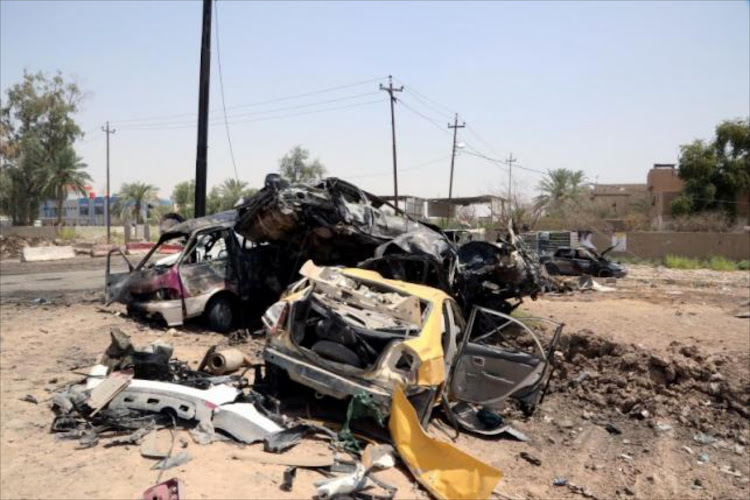 Borno state police spokesman Edet Okon said the woman's explosives detonated when she was shot. A second bomber blew herself up in a nearby motorised rickshaw, he added.