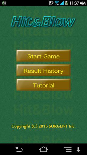 Hit & Blow 1.0.3 Windows u7528 1